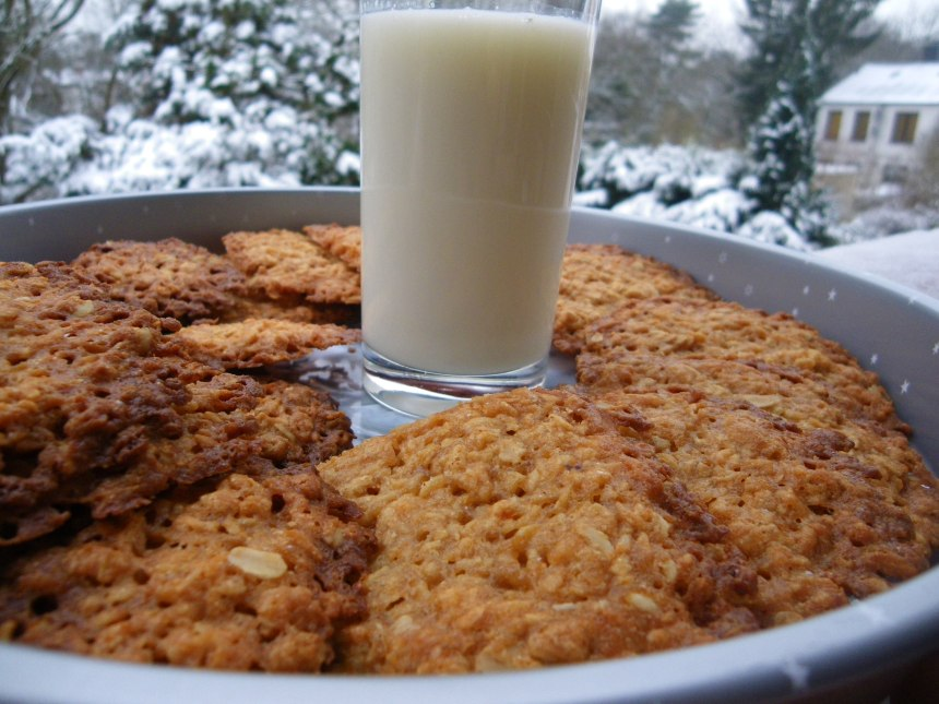 Anzac Biscuits; BlueCrumbles